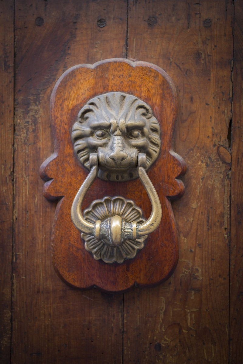 Beautiful doorknob