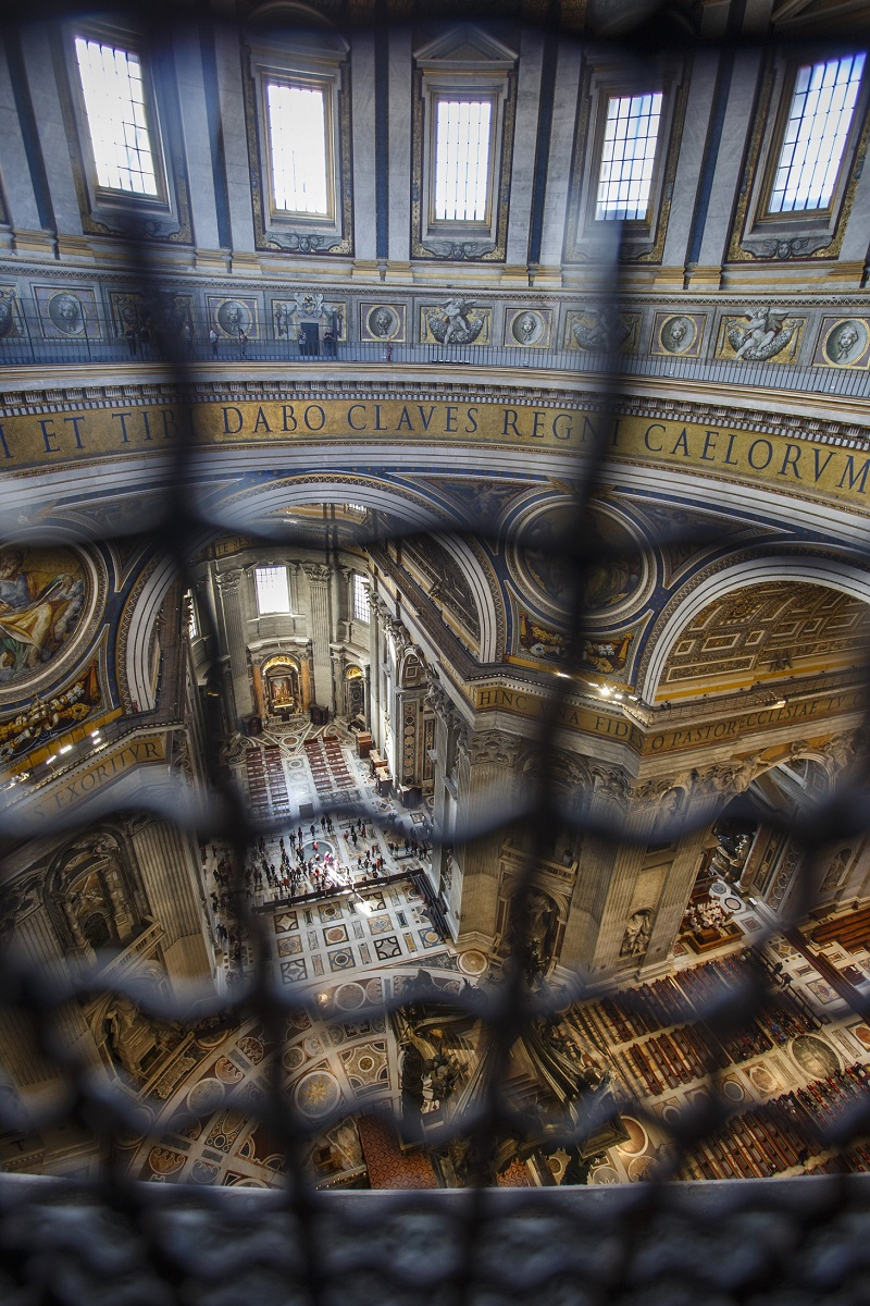St Peters Basilica in Rome inside